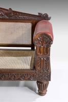 Mid 19th Century Indo-Portuguese Rosewood Sofa (6 of 9)