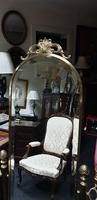 Good Brass Cheval Mirror (4 of 4)