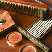 Victorian Mahogany & Brass Pill Maker (3 of 9)