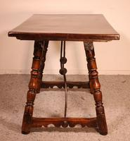 Spanish Table from the 16th Century in Walnut (3 of 13)