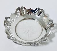 Small Solid Silver Bon Bon Dish (6 of 6)