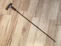 Gentleman's Walking Stick Sword Stick with Horned Handle (4 of 16)