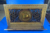Victorian Italian Sorento Olivewood Book Stand with Micro Mosaic Inlay (22 of 23)
