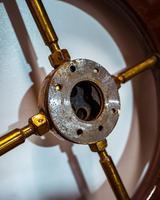 Brass & Oak Yacht Wheel (3 of 6)