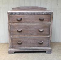 Limed Oak Chest of Drawers (8 of 9)