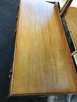 Antique Heals Oak Dressing Table & Stool (6 of 12)