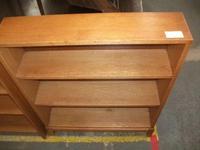 Light Oak Open Bookcase (2 of 2)