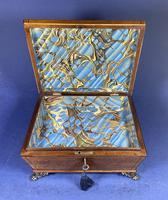 Regency Burr Maple  Jewellery Box With Inlay (2 of 16)