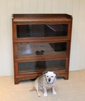 1920s Oak Stacking Bookcase (4 of 9)