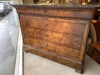French Louis Philippe Commode in Burr Walnut (4 of 7)