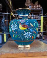 Large Vase by H.Bequet Quaregnon Belguim (2 of 4)