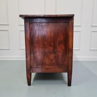 Early Primitive French Walnut Chest Commode c.1800 (7 of 8)