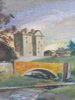 Watercolour Bourthwick  Castle Scotland, A B Moffat (8 of 10)