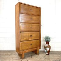 Industrial Vintage Staverton Oak Cabinet