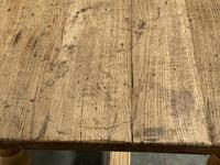 Superb Quality Large Bleached Oak Farmhouse Dining Table (23 of 32)