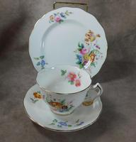 George Jones & Sons, Crescent Ware, June Time Pattern Trio. (2 of 4)
