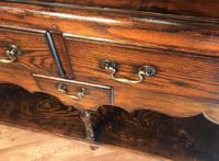 Oak Dresser Base (10 of 14)