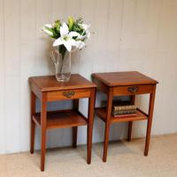 Pair of Yew Tables (8 of 10)