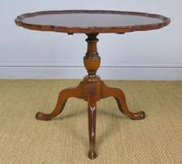 Antique Tip Top Flame Mahogany Table (5 of 5)