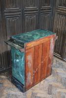 Original Painted Marble Pedestal (6 of 6)