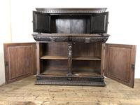 Antique 19th Century Carved Oak Court Cupboard (18 of 24)