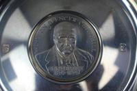 Limited Edition Silver Commemorative Churchill Plate (2 of 6)