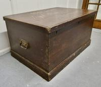 Victorian Painted Masonic Pine Chest (4 of 7)