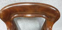 Outstanding Set Eight Mahogany Dining Chairs (7 of 9)