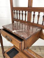 Antique Mahogany Hall Stand (9 of 10)