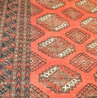 Antique Afghan Rug (3 of 3)