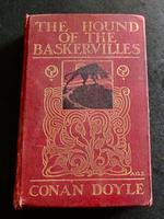 1902 1st Edition The Hound of the Baskervilles by Arthur Conan Doyle