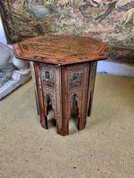 Antique Lacquered Eastern Table (4 of 5)
