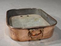 Good George III Period Rectangular Poaching Dish (2 of 4)