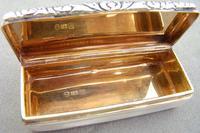 Georgian Silver Snuff Box by Edward Smith, Birmingham 1828 (8 of 8)