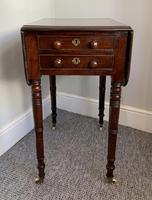 Victorian Mahogany Drop Flap Work Table (17 of 18)