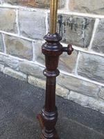 Antique Mahogany Music Duet Stand (10 of 10)