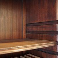 George VI Mahogany Library Bookcase (12 of 13)