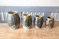 Scottish Pottery Slipware Barrel Storage Jars x4 (13 of 35)