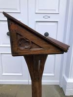 Victorian Oak Church Lectern c.1870 - Ecclesiastical Wedding Interest (3 of 16)
