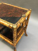 Victorian Bamboo Side Table (7 of 9)
