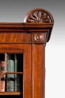 Regency Period Mahogany Two Door Bookcase (4 of 6)