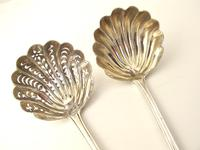 Lovely Pair of Victorian Silver Small Ladles H.J. Lias & Sons, London 1872 (2 of 6)
