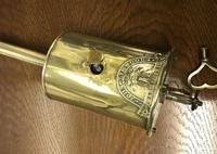 Georgian Brass Bottle Spit Jack (2 of 6)