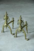 Pair of Brass Fire Dogs (5 of 12)