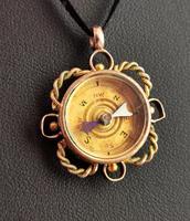 Antique 9ct Gold Compass Pendant, Carnelian (13 of 13)