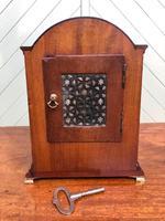 Antique Inlaid Mahogany Bracket Clock (8 of 9)