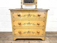 Antique Painted Pine Dressing Chest (2 of 13)