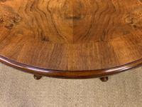 Burr Walnut Centre Table by Waring & Gillow (6 of 10)