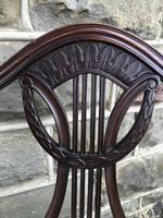 Antique Mahogany Desk Chair (3 of 6)