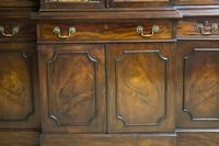 Antique 19th Century Mahogany Breakfront Bookcase (2 of 12)